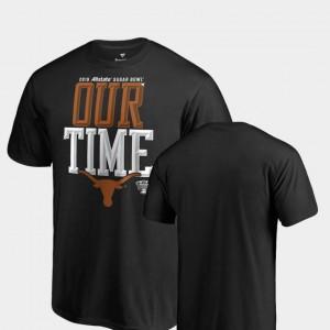 2019 Sugar Bowl Bound For Men's Counter Big & Tall Black Texas T-Shirt 616358-199