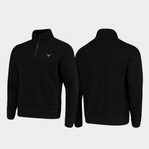 Black Texas Jacket College Sport Nassau Mens Half-Zip Pullover Tommy Bahama 541958-860