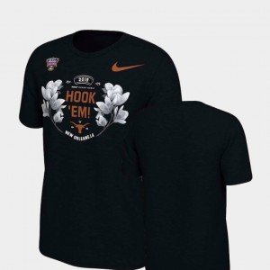 Verbiage Texas T-Shirt Men 2019 Sugar Bowl Bound Black 425193-114