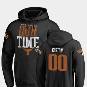Texas Customized Hoodies #00 Black Men's Counter 2019 Sugar Bowl Bound 493317-379