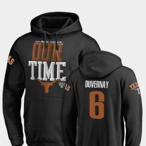 Devin Duvernay Texas Hoodie #6 Black 2019 Sugar Bowl Bound Counter Men 640626-411
