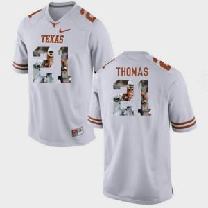 White For Men Duke Thomas Texas Jersey Pictorial Fashion #21 377978-317
