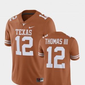 #12 For Men Texas Orange Alumni Football Game Earl Thomas Texas Jersey Player 498621-118