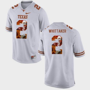 White For Men Fozzy Whittaker Texas Jersey Pictorial Fashion #2 406598-163