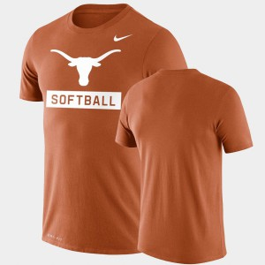 Orange Performance Softball Texas T-Shirt Drop Legend Men's 532387-762