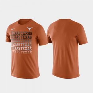 Fade Texas Orange Performance Mens Texas T-Shirt 551767-778
