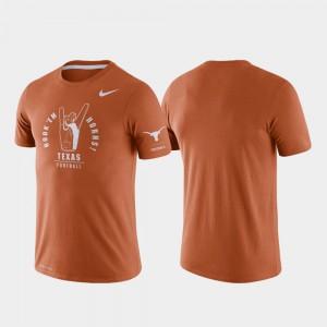 Tri-Blend Performance Men's Rivalry Texas T-Shirt Texas Orange 948008-838