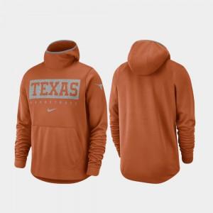 Texas Orange Basketball Spotlight Texas Hoodie Mens 820483-846