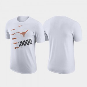 For Men Just Do It Performance Cotton White Texas T-Shirt 306828-207