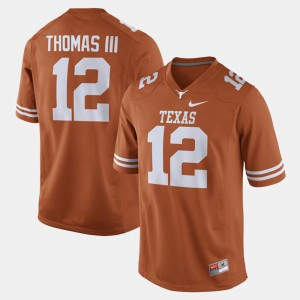 Orange Alumni Football Game Earl Thomas Texas Jersey #12 Mens 732056-921