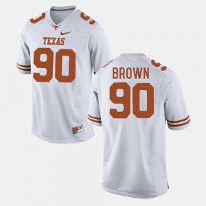 White College Football Malcom Brown Texas Jersey #90 For Men 250248-737