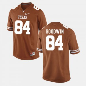 For Men Marquise Goodwin Texas Jersey Burnt Orange College Football #84 941643-494
