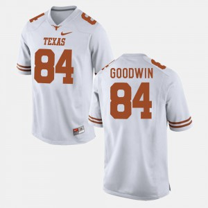 College Football Mens White #84 Marquise Goodwin Texas Jersey 479363-483